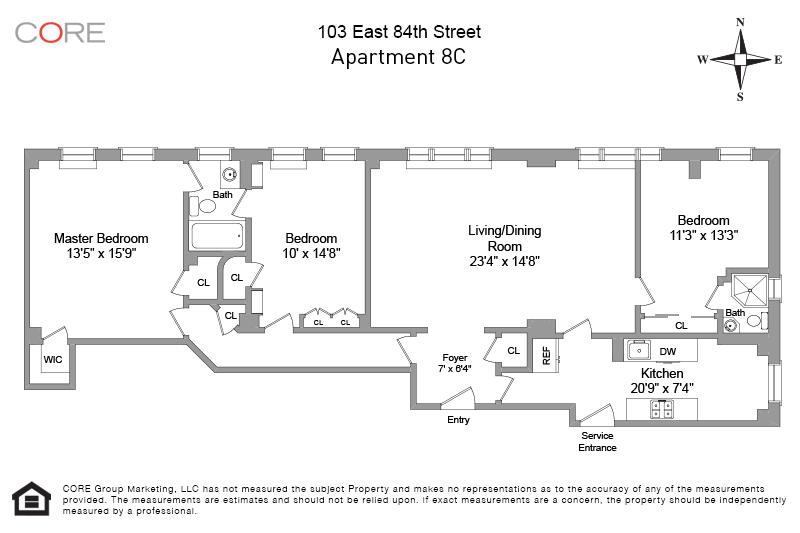 103 East 84th St. 8C, New York, NY 10028