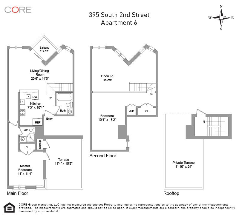 395 South 2nd St. 6, Brooklyn, NY 11211