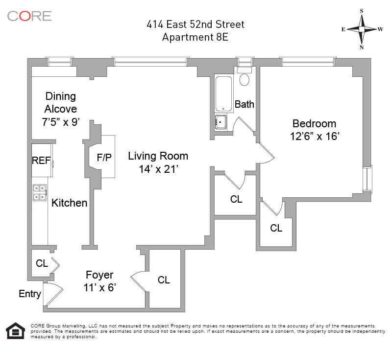 414 East 52nd St. 8E, New York, NY 10022