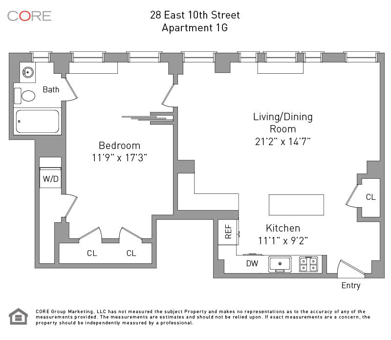 28 East 10th St. 1G, New York, NY 10003