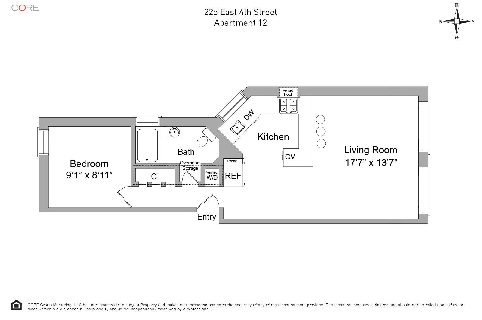 225 East 4th St. 12, New York, NY 10009