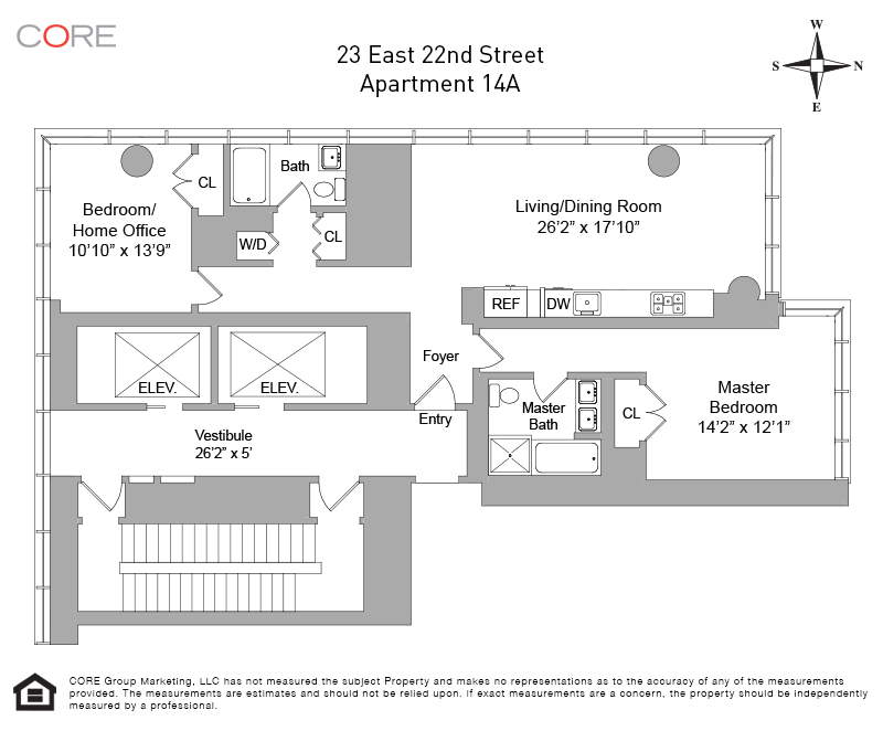 23 East 22nd St. 14A, New York, NY 10010