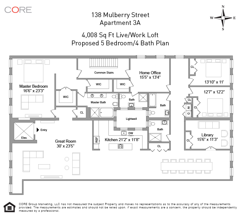 138 Mulberry St 3FL, New York, NY 10013