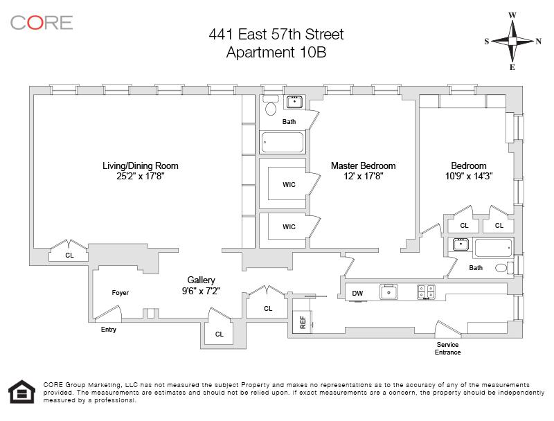 447 East 57th St. 10B, New York, NY 10022