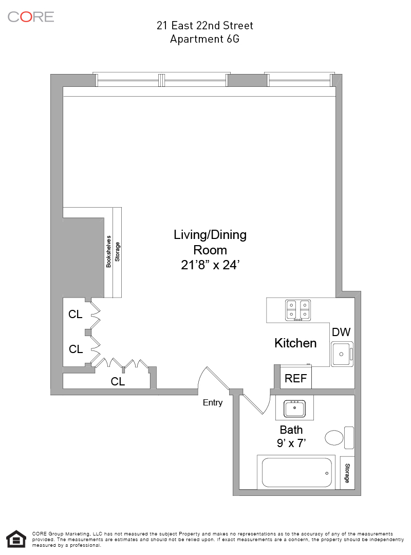 21 East 22nd St. 6G, New York, NY 10010