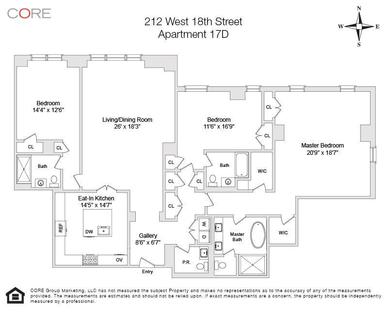 212 West 18th St. 17D, New York, NY 10011