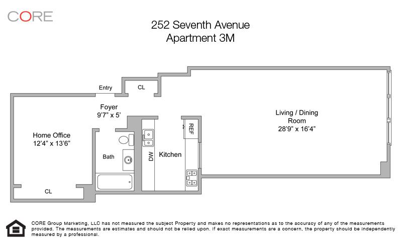 252 Seventh Ave. 3M, New York, NY 10001