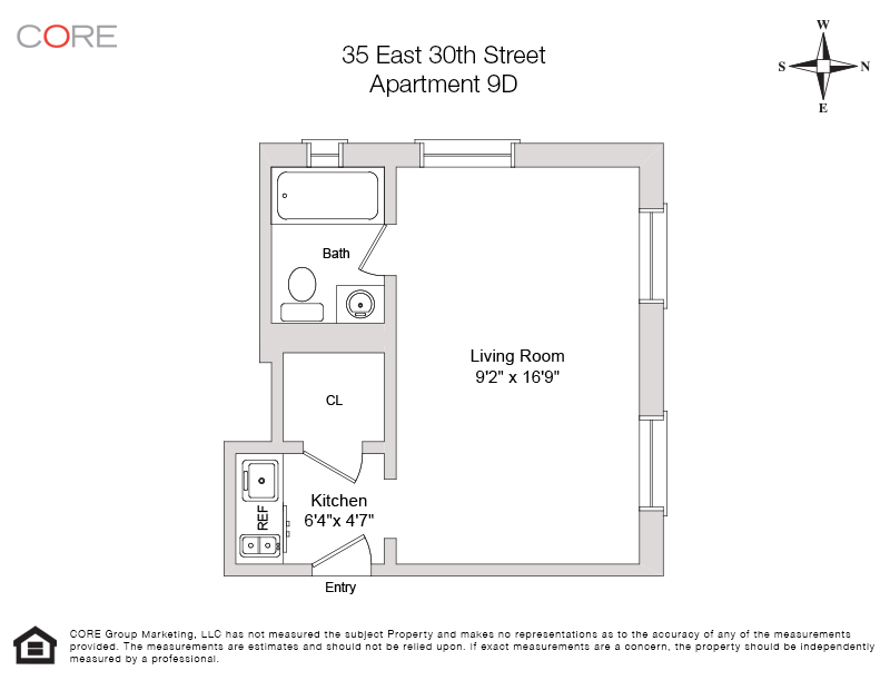 35 East 30th St. 9D, New York, NY 10016