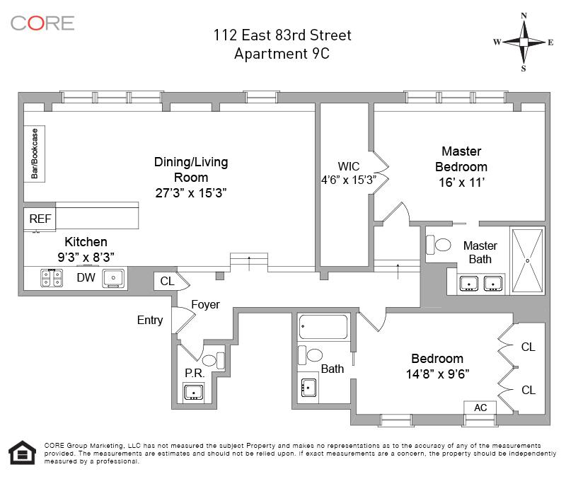 112 East 83rd St. 9C, New York, NY 10028