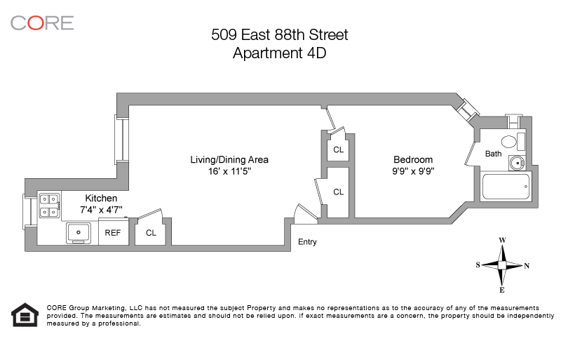509 East 88th St. 4D, New York, NY 10128