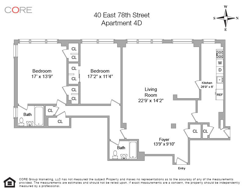 40 East 78th St. 4D, New York, NY 10075