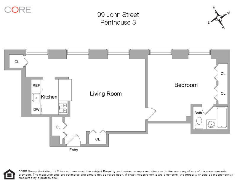 99 John St. PH3, New York, NY 10038
