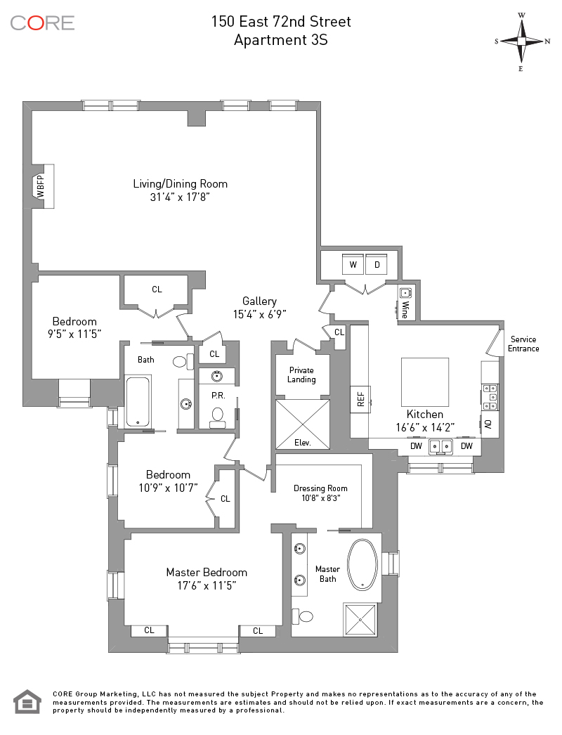 150 East 72nd St. 3S, New York, NY 10021