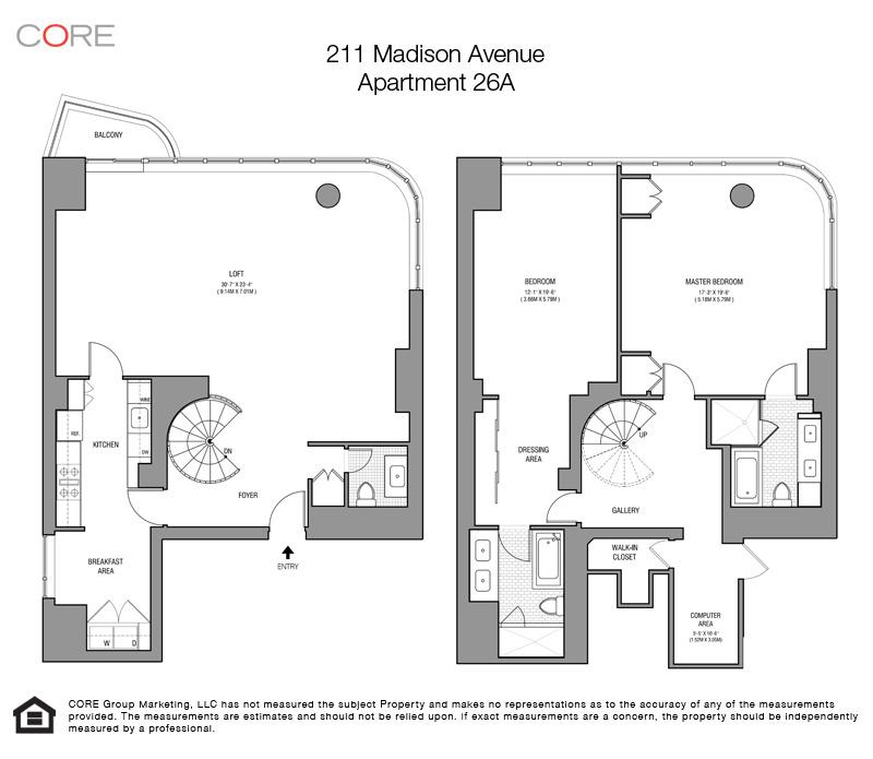 211 Madison Ave. 26A, New York, NY 10016