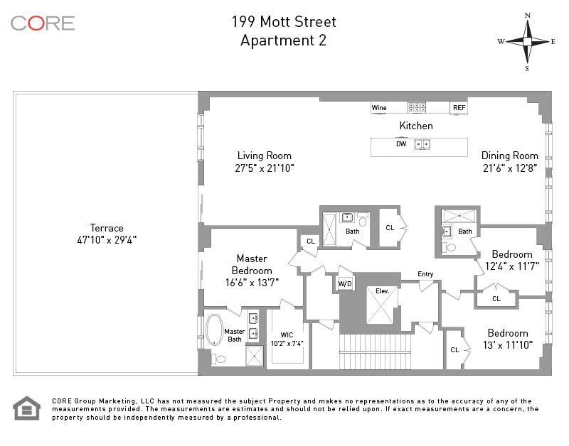 199 Mott St. 2, New York, NY 10012