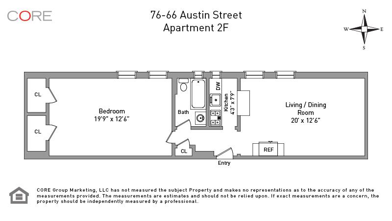 76 Austin St 2FL, Queens, NY 11375