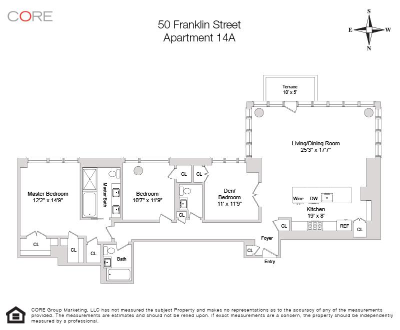 50 Franklin St. 14A, New York, NY 10013