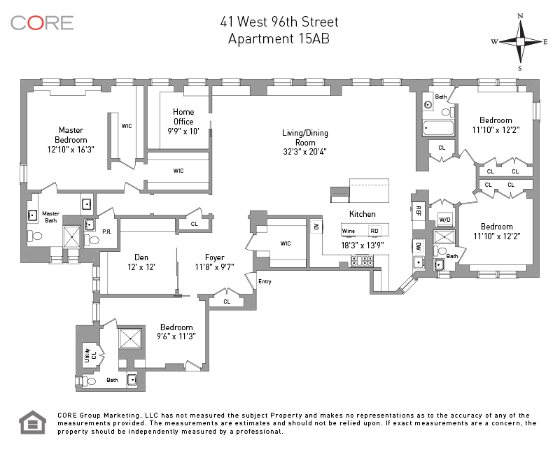 41 West 96th St. 15AB, New York, NY 10025