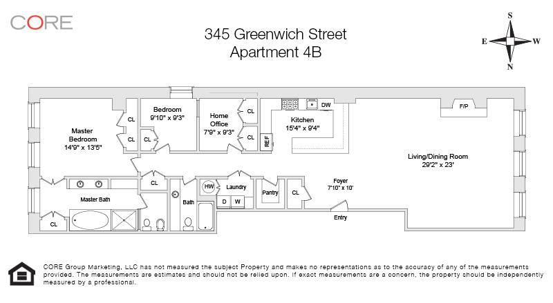 345 Greenwich St. 4B, New York, NY 10013
