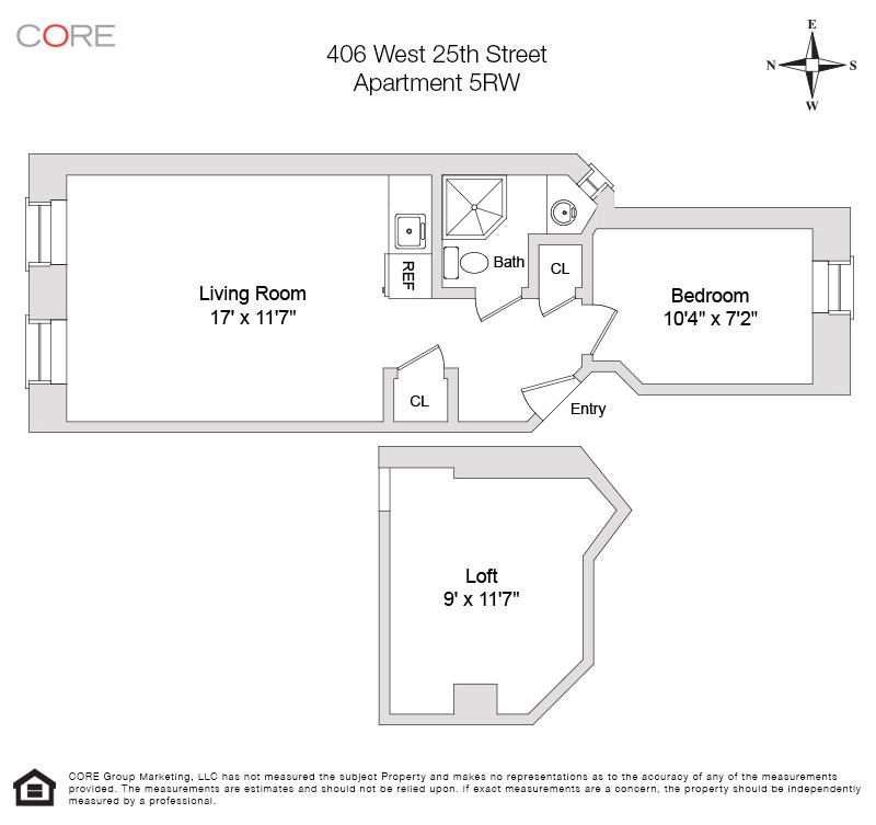 406 West 25th St. 5RW, New York, NY 10001