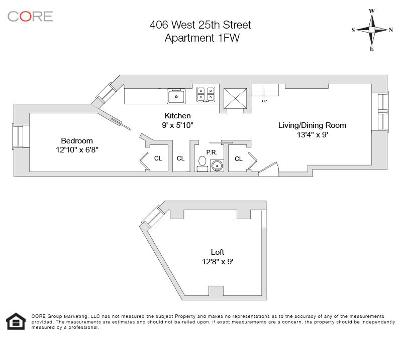 406 West 25th St. 1FW, New York, NY 10001