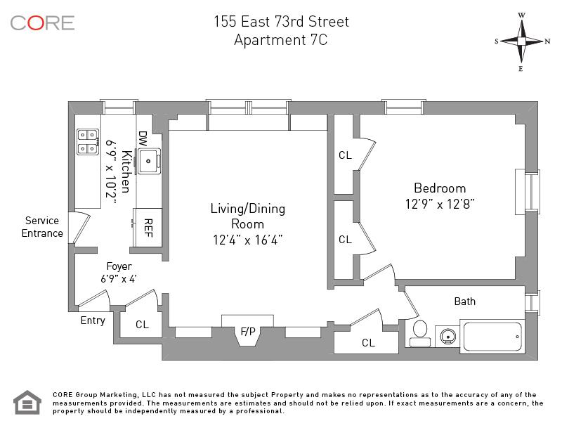 155 East 73rd St. 7C, New York, NY 10021