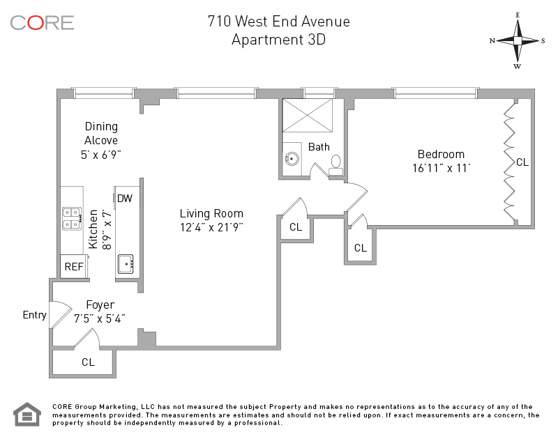710 West End Ave. 3D, New York, NY 10025