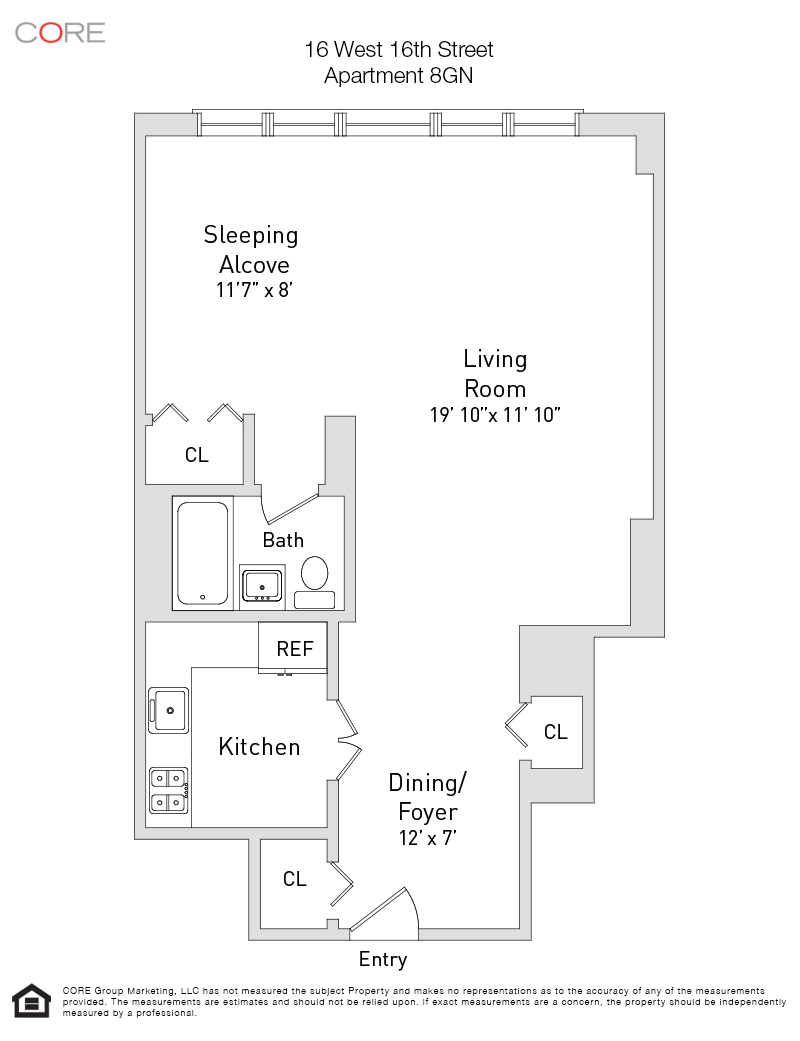16 West 16th St. 8GN, New York, NY 10011