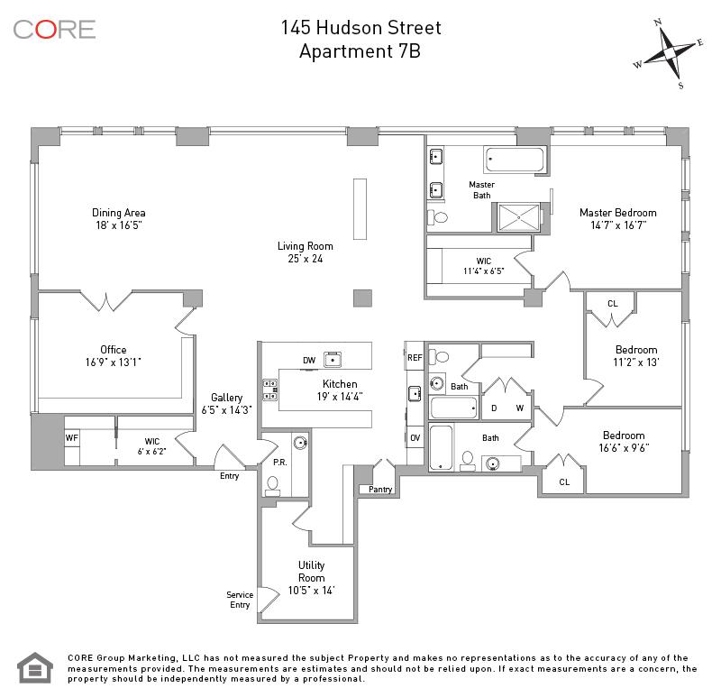 145 Hudson St. 7B, New York, NY 10013