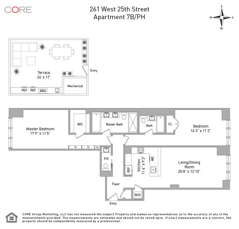 261 West 25th St. 7B, New York, NY 10001
