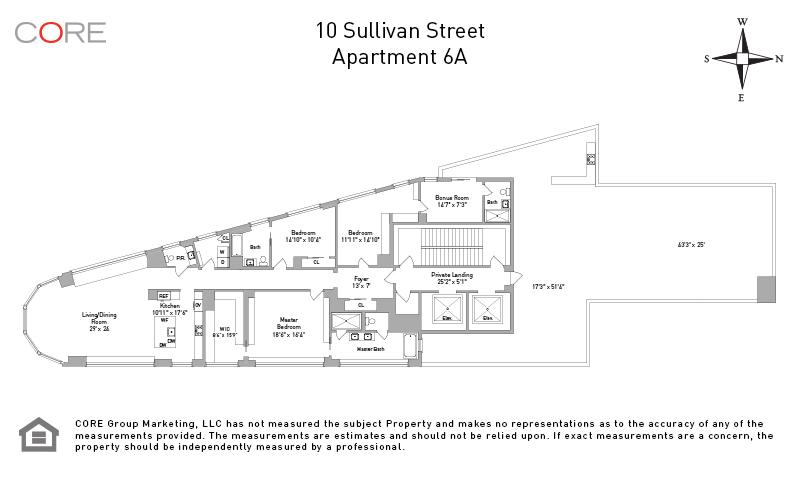 10 Sullivan St. 6A, New York, NY 10012