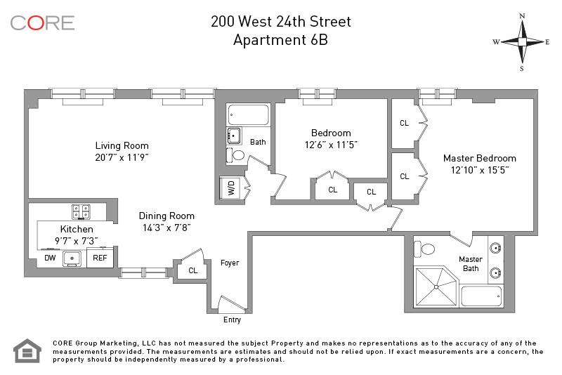 200 West 24th St. 6B, New York, NY 10011