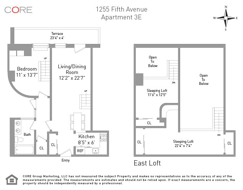 1255 Fifth Ave. 3E, New York, NY 10029