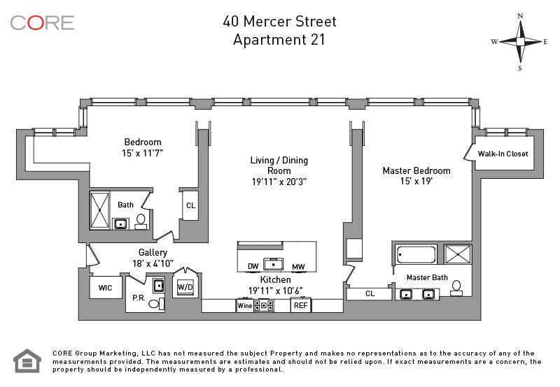 40 Mercer St. 21, New York, NY 10013