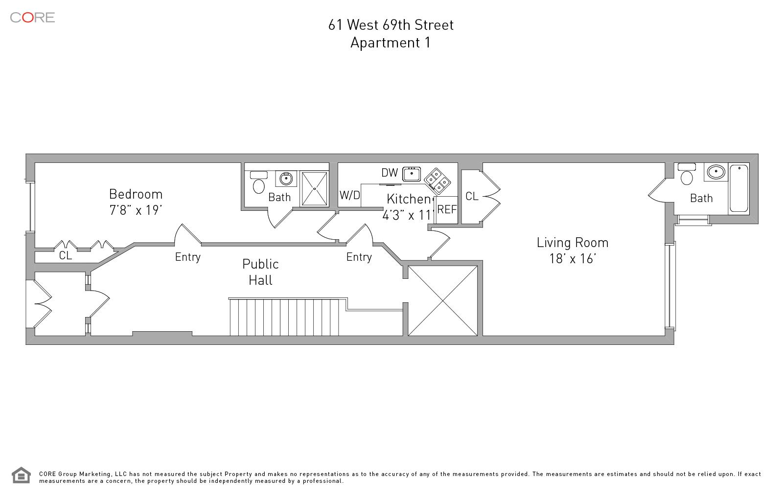 61 West 69th St. 1, New York, NY 10023