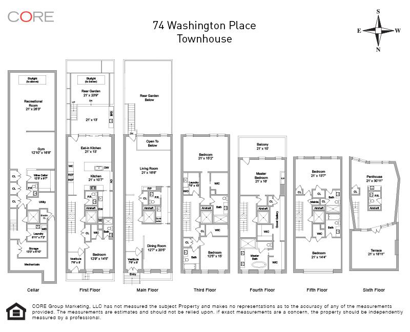 74 Washington Place, New York, NY 10011