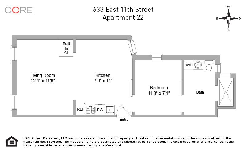 633 East 11th St. 22, New York, NY 10009