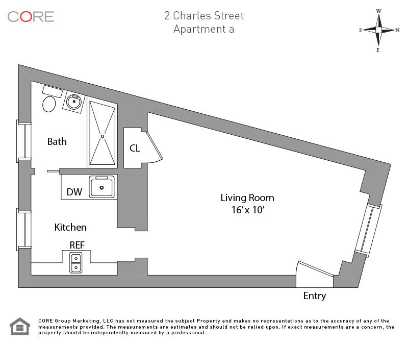 2 Charles St. 1, New York, NY 10014