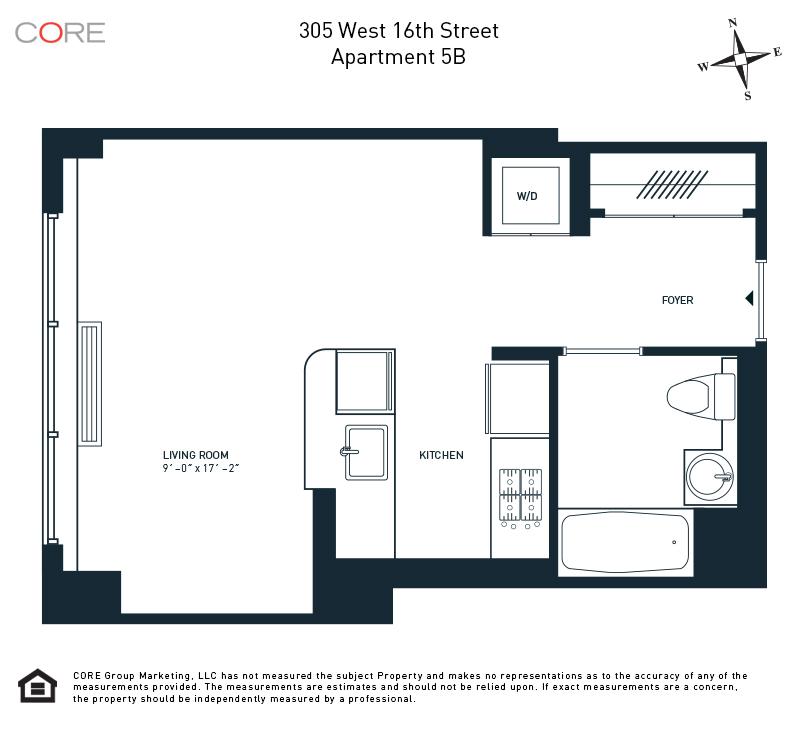 305 West 16th St. 5B, New York, NY 10011