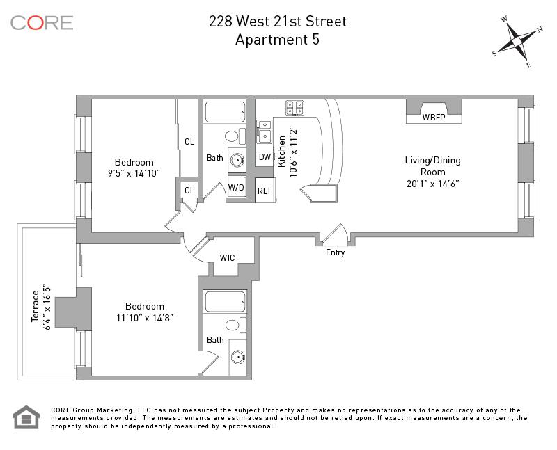 228 West 21st St. 5, New York, NY 10011
