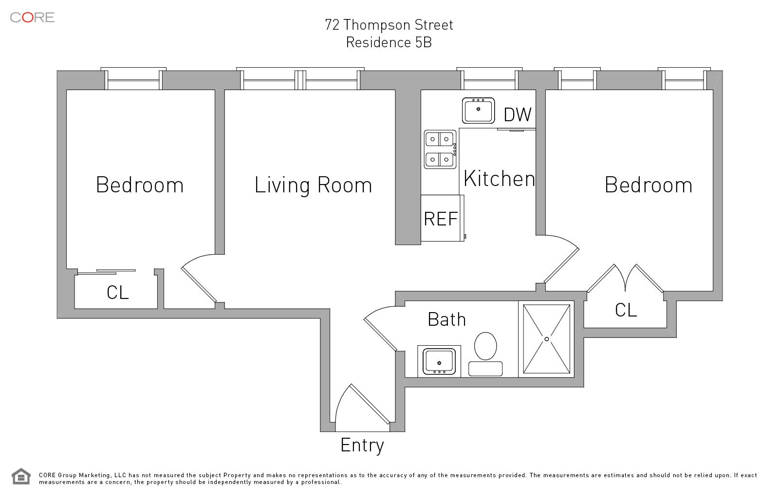 72 Thompson St. 5B, New York, NY 10012