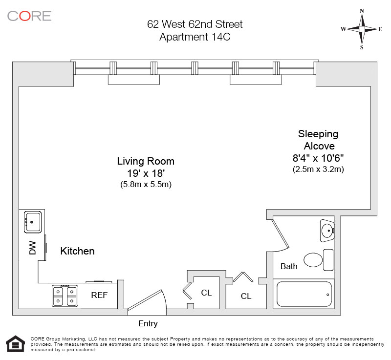 62 West 62nd St. 14C, New York, NY 10023