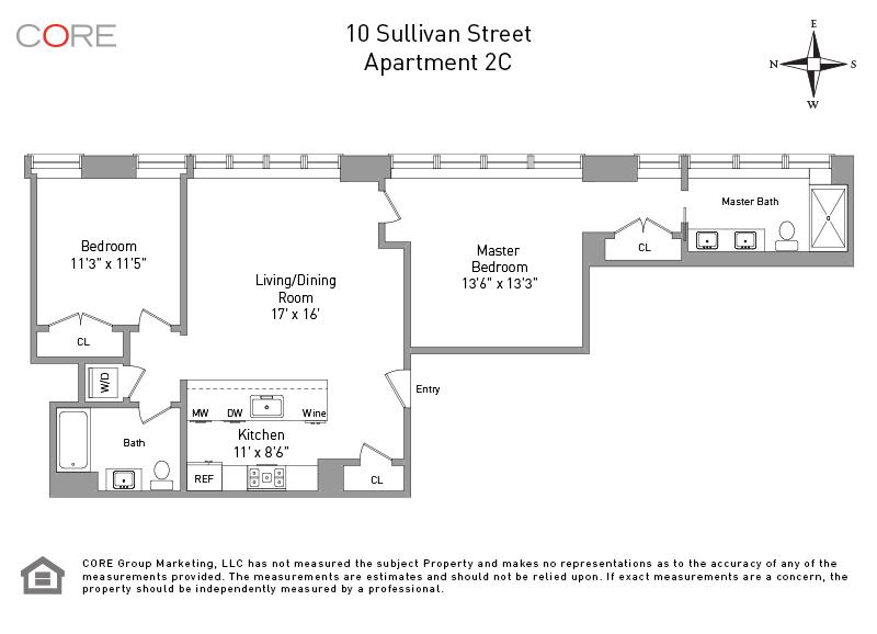 10 Sullivan St. 2C, New York, NY 10012