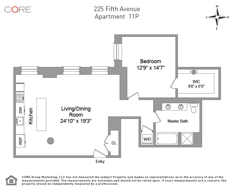 225 Fifth Ave. 11P, New York, NY 10010