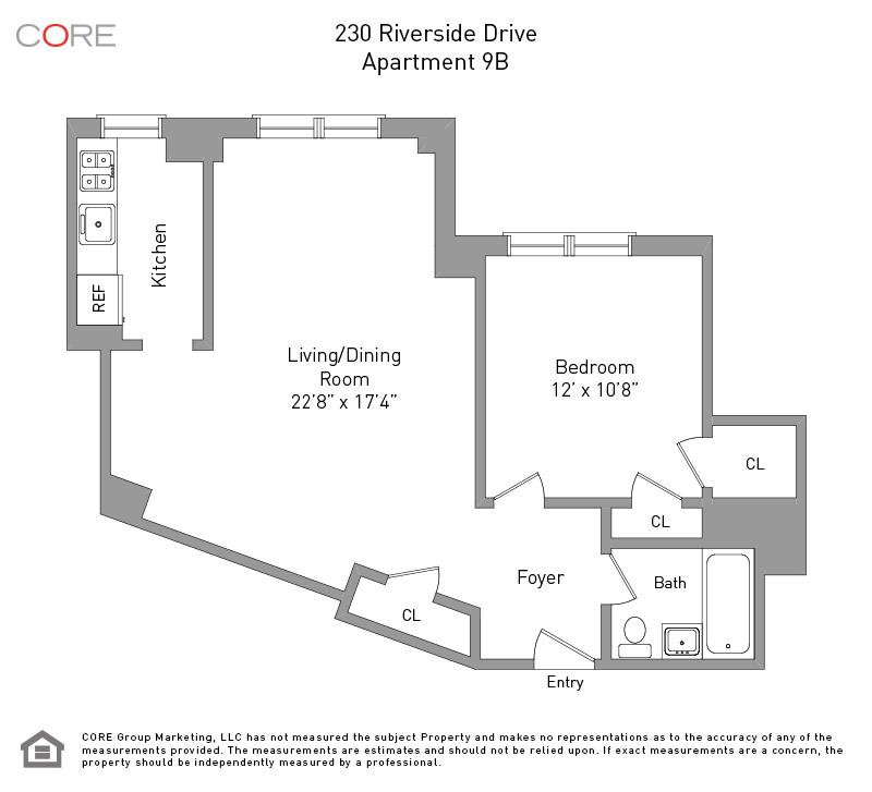 230 Riverside Dr. 9B, New York, NY 10025