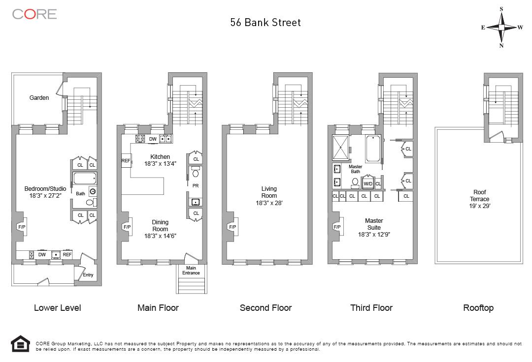 56 Bank St. TH, New York, NY 10014