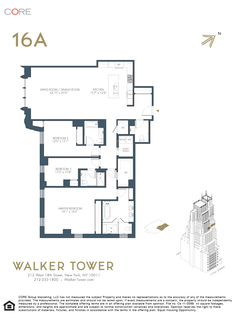 212 West 18th St. 16A, New York, NY 10011