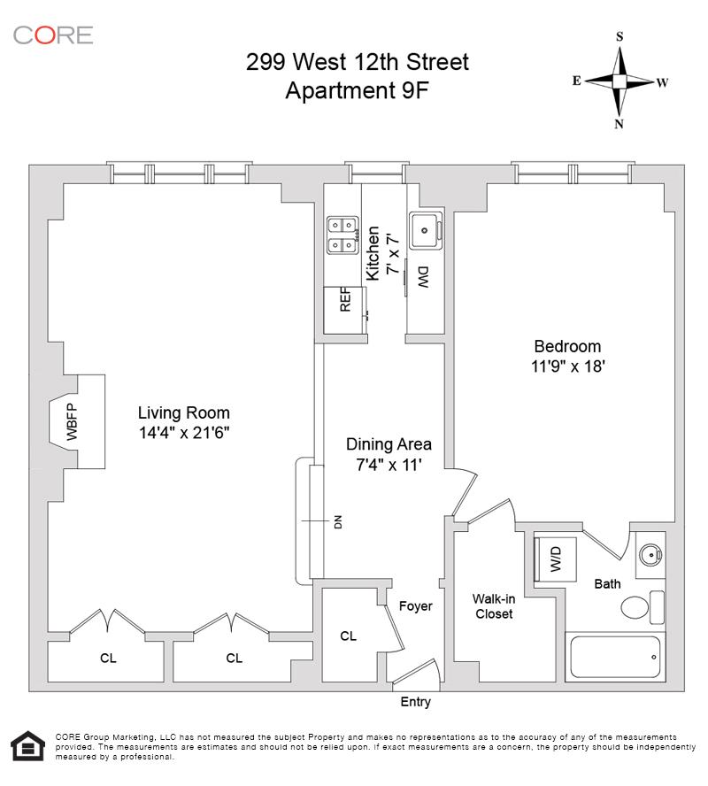 299 West 12th St. 9F, New York, NY 10014