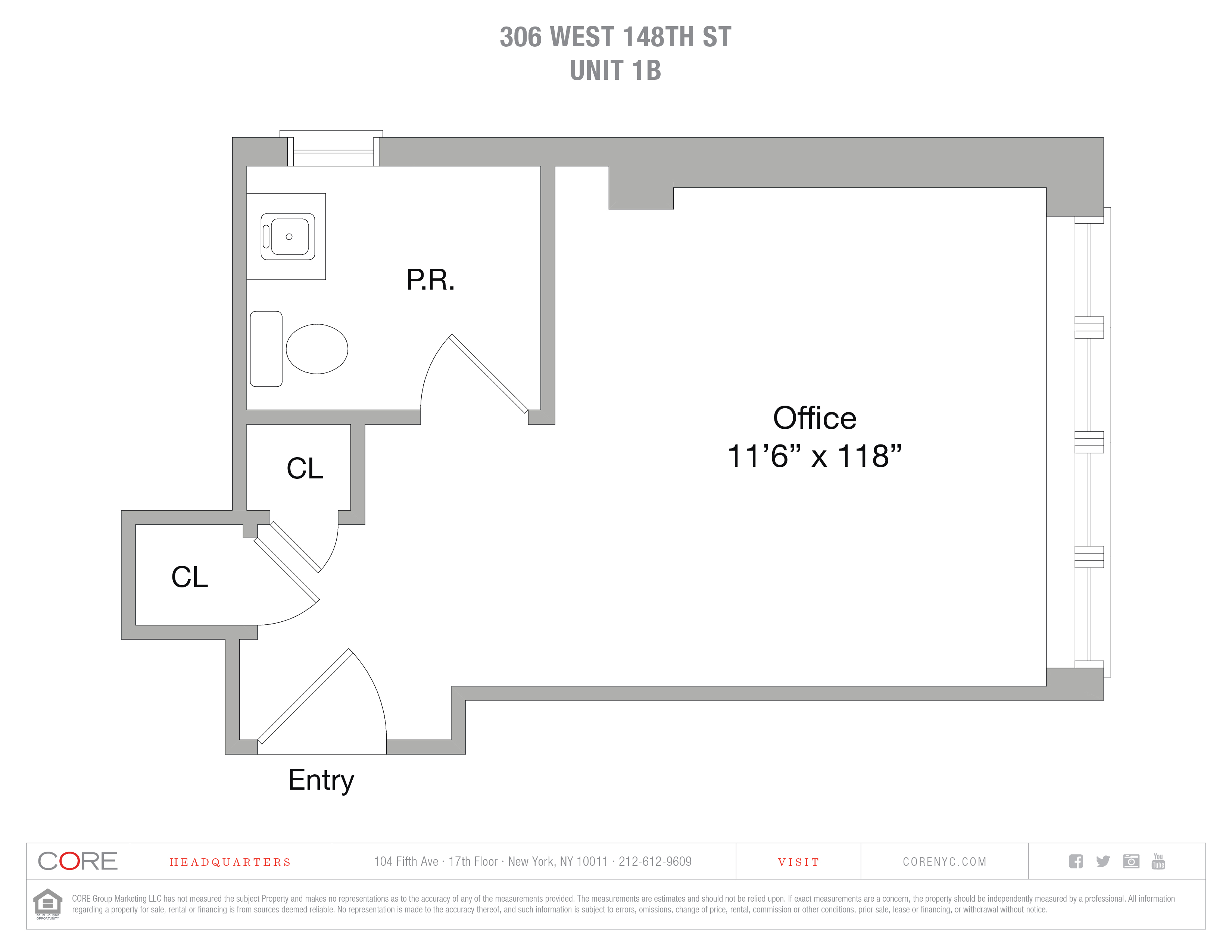 306 West 148th St. 1B, New York, NY 10039
