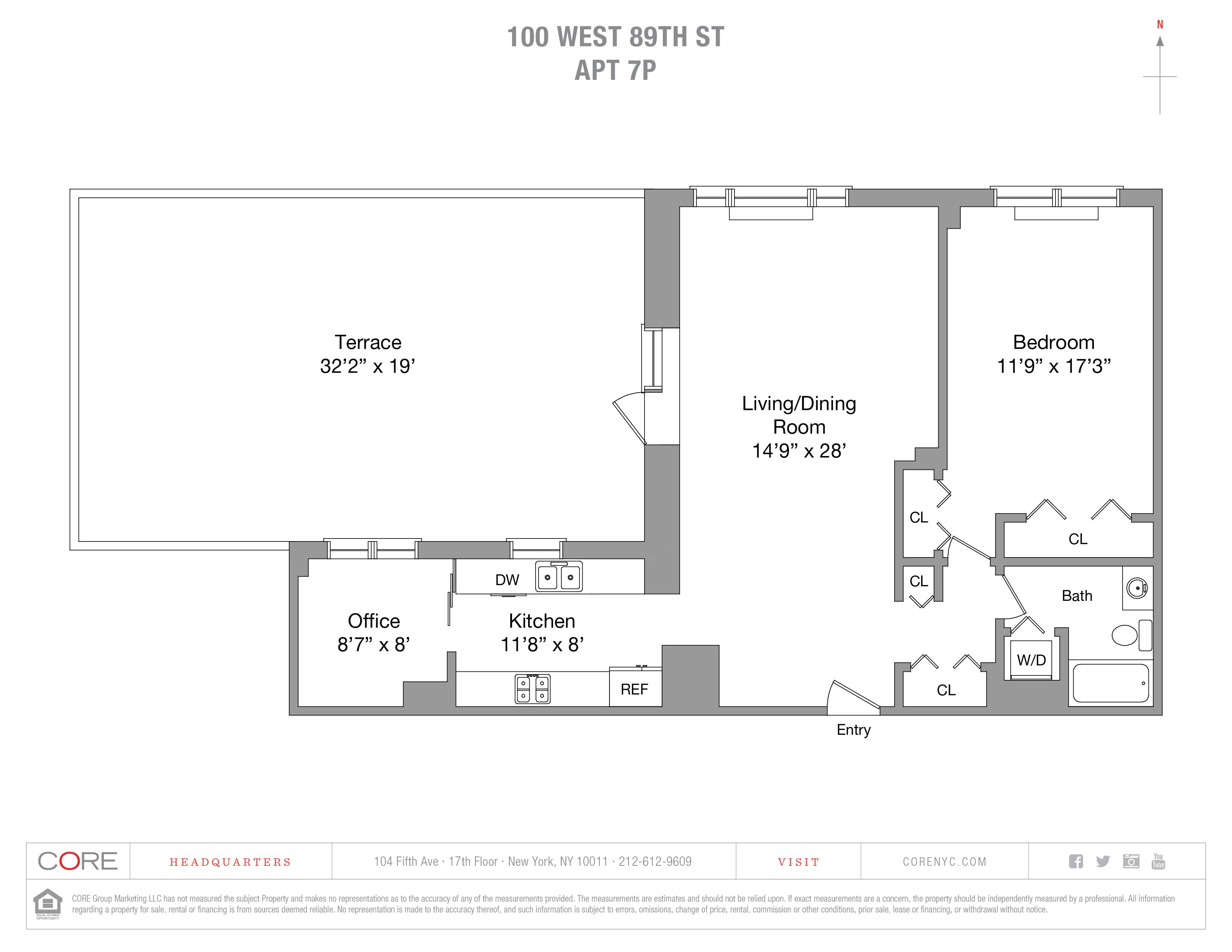 100 West 89th St. 7P, New York, NY 10024